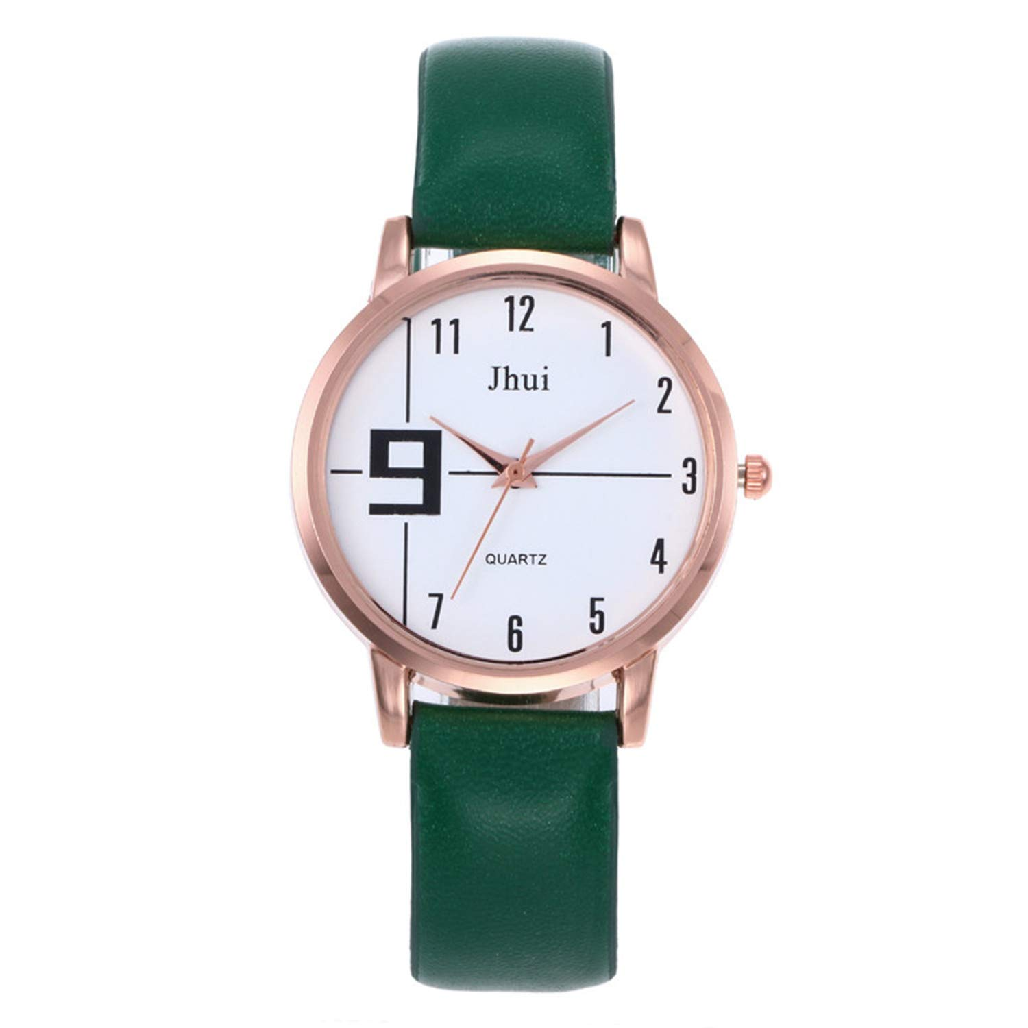 Amazon.com : liberalism Casual Ladies Watch Fashion Female Leather Quartz Wrist Watch Women Watches Clock Bracelet Watch Relojes para Mujer(Black, ...
