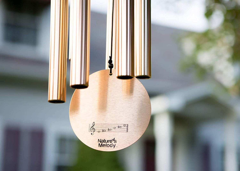 Natures Melody Aureole Tunes Carillon Bronze 65 cm