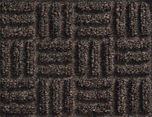 M+A Matting 265 WaterHog Masterpiece Select Polypropylene Fiber Entrance Indoor Floor Mat, SBR Rubber Backing, 3' Length x 2' Width, 3/8