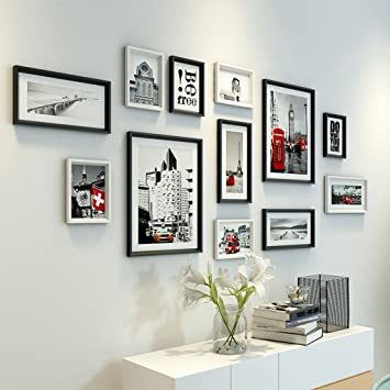 U0026Dekorative Wände Bilderrahmen Wand Set   12 Frames, Wohnzimmer Malerei  Restaurant Retro Architektur Wandmalerei Eingang