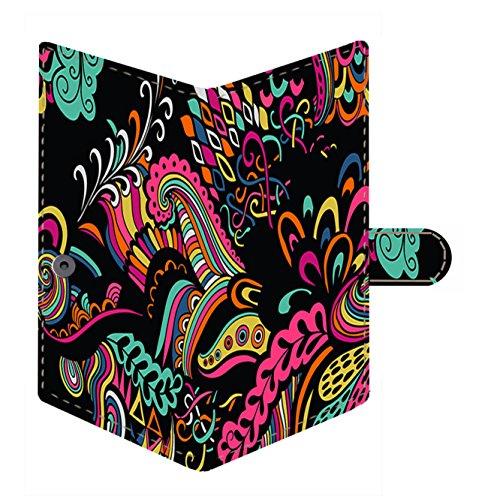 Shopmania Floral Pattern Canvas Printed Women's Wallet, Card organizer, Passport Holder, Clutch, Purse