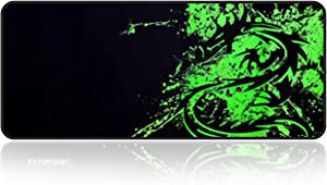 """Large Gaming Mouse Pad with Edge Stitching
