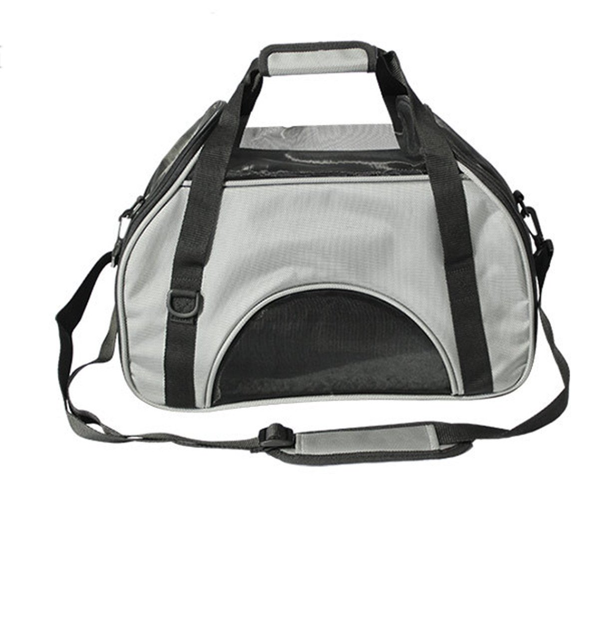 B Pet Carrier For Small Dogs And Cats Travel   Airlines Approved Animal Cage   Soft Sides   Travel Comfort   Lightweight,B