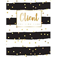 Client Tracking Book: Hairstylist Client Data Organizer Log Book with A - Z Alphabetical Tabs | Personal Client Record Book Customer Information | Appointment Management Book
