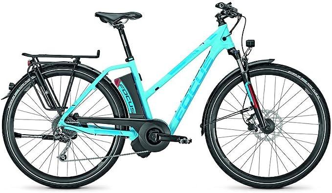 Focus E-bike Aventura Donna Trekking de Ebike 9 g 17 Ah 36 V 28 Keystone Mujer div. RH, azul: Amazon.es: Deportes y aire libre