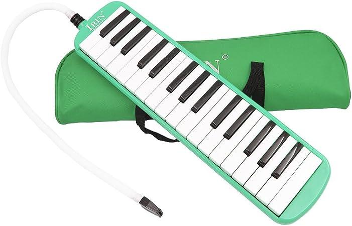 ammoon 32 Teclas de Piano Melodica Instrumento de Educación Musical el Regalo de los Niños de Principiante con Bolsa de Transporte