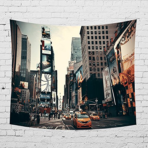 - OATHENE New York The Fifth Avenue Tapestry,Wall Hanging for Bedroom/Living Room/Dorm, Polyester,60L x 51 W Inches (150cm x 130cm),940