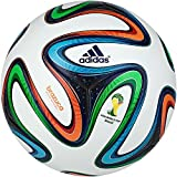 2014 fifa world cup ball - adidas Brazuca FIFA 2014 World Cup Official Match Soccer Ball-G73617
