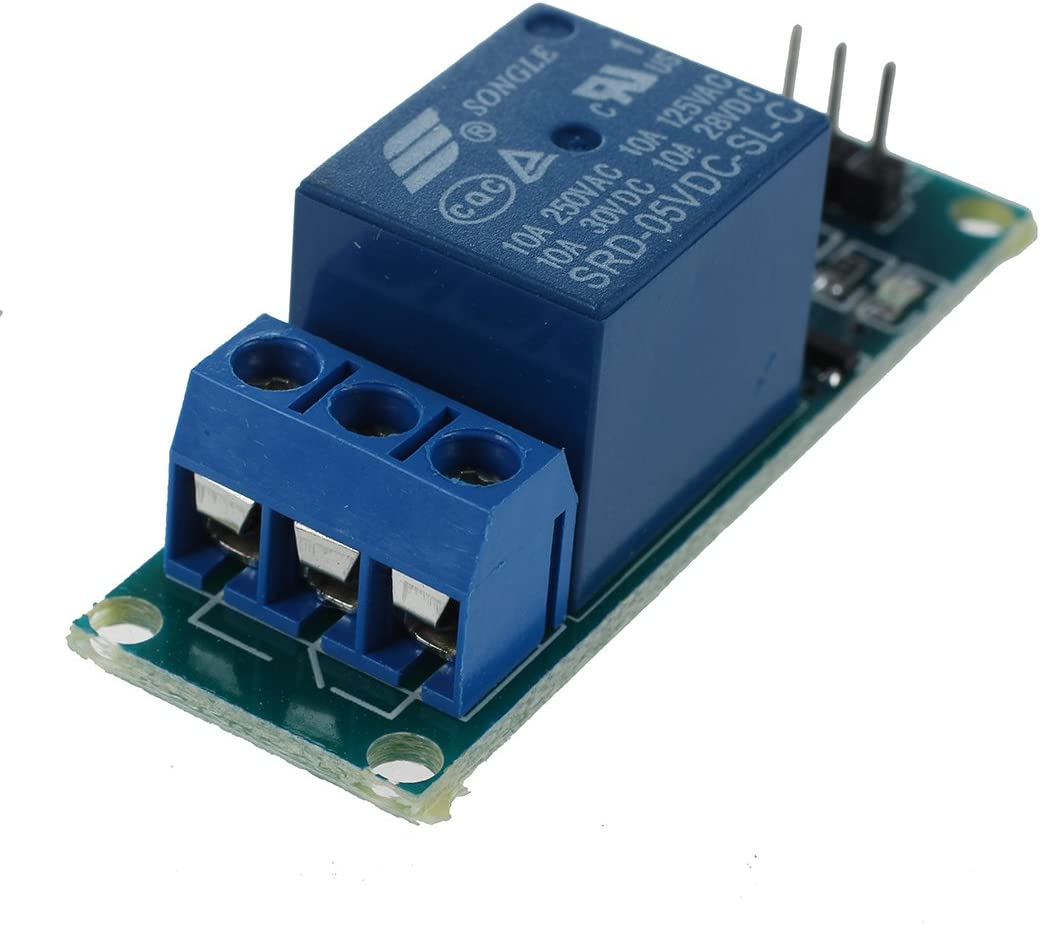 SODIAL 5V Active Low 1 Channel Relay Module Board for Arduino PIC AVR MCU DSP ARM Blue R