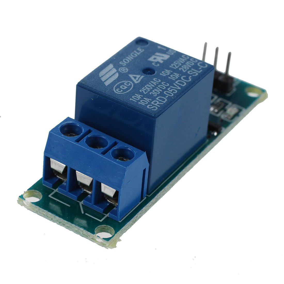 TOOGOO 2 Kanal 5V Relay Relais Module Modul fuer Arduino Special Sensor Shield V4.0 R