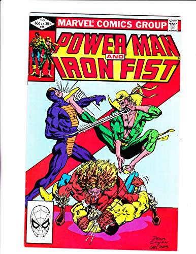 Power Man amp; Iron Fist No.841982 4th App Sabretooth :