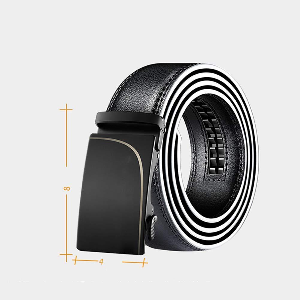ZWL Geschäfts-justierbarer Gurt-beiläufige Art Und Weiseautomatische Schnalle-Polyester-Gesichts-einzelner Ring Ring Ring Für Erwachsene,schwarz,125cm B07LCK66KX Tauchgewichte & -gürtel Ausgezeichnete Dehnung 480698