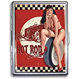 Retro-a-go-go! Bettie Page Hot Rod Wallet Case