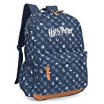 Mochila Harry Potter Símbolos Azul - Luxcel MS45643HP