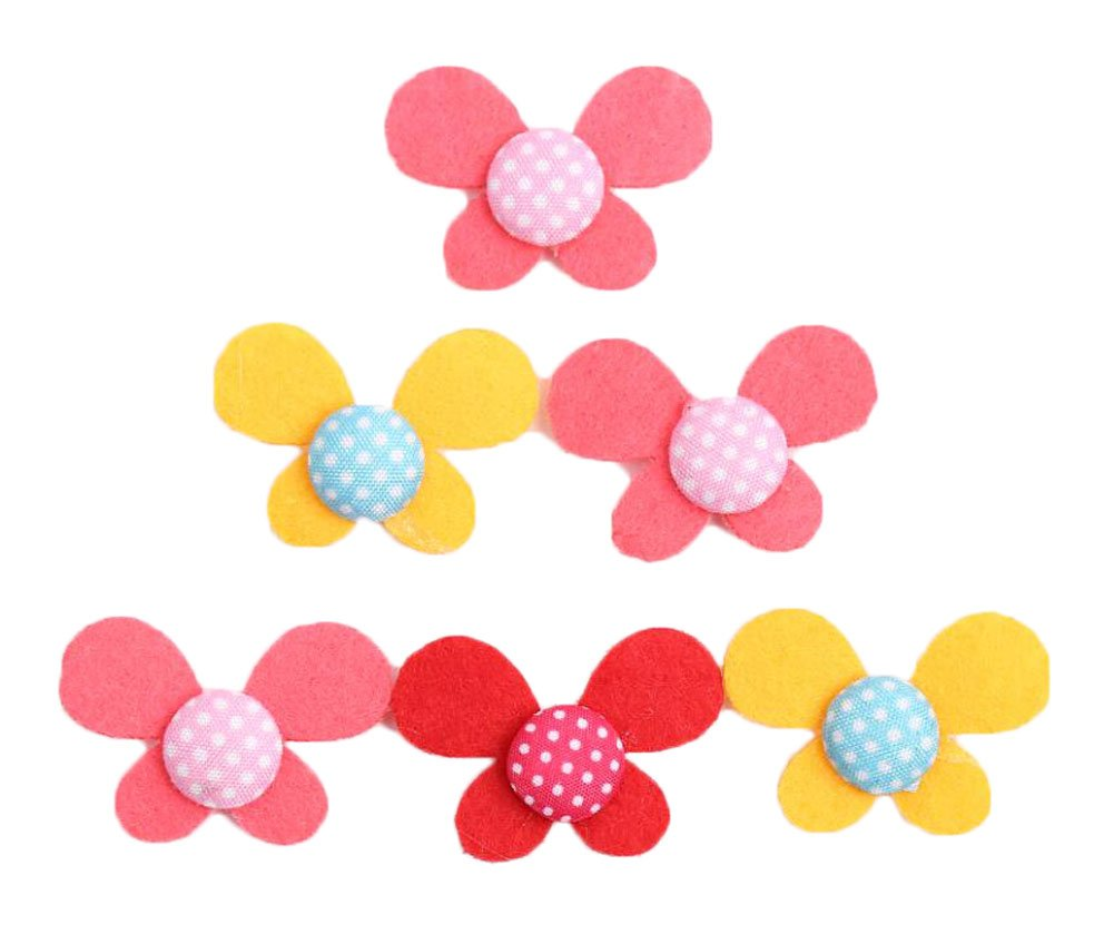6PCS Makeup Hair Grip Hair Bangs Patches East Majik