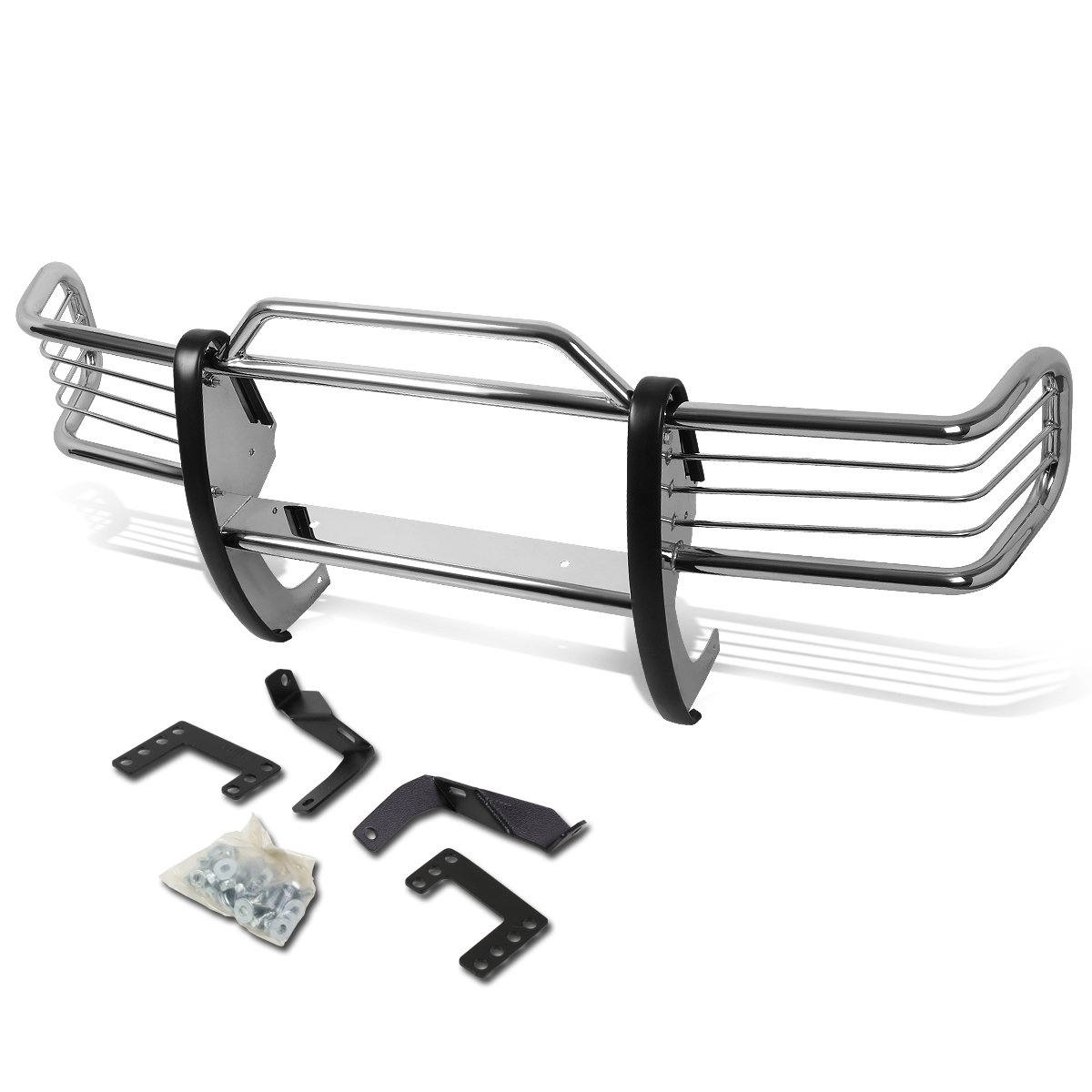 For Jeep Grand Cherokee ZJ Front Bumper Protector Brush Grille Guard Black