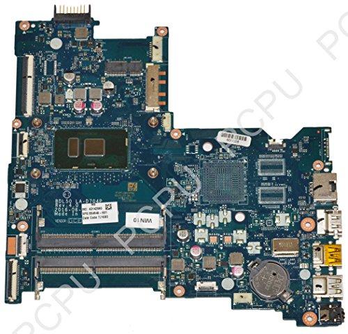 854946-601 HP 15-AY Laptop Motherboard TS w/ i3-6100U 2.3Ghz CPU, BDL50, LA-D704P