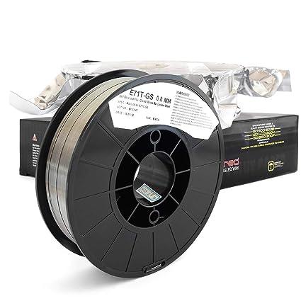 Bobina de alambre animado de acero E71T-GS con protección integrada ...
