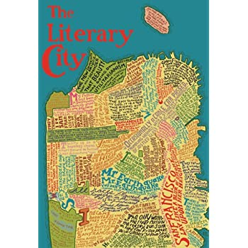 Amazoncom Artifact Puzzles Big San Francisco Literary Map