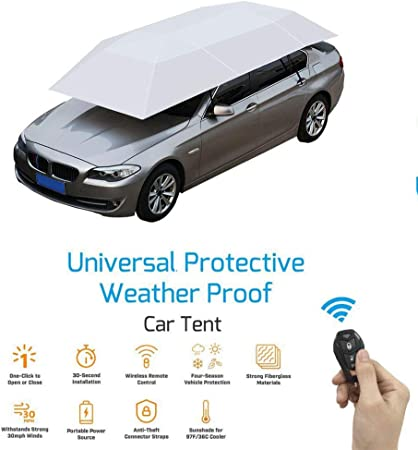 Portable Automatic Removeable Outdoor Car Sunshade Roof Cover UV Protection Tent