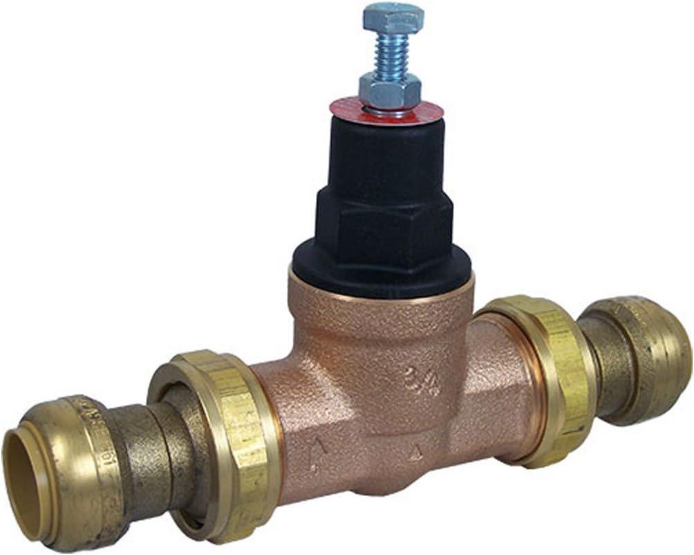 SharkBite 23894-0045 Pressure Regulator Valve, 3/4 in, Bronze