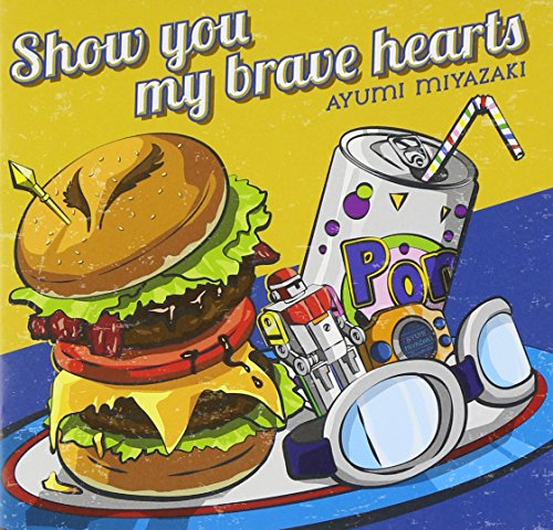 Price comparison product image Ayumi Miyazaki - Show You My Brave Hearts +1 [Japan CD] NECA-30321