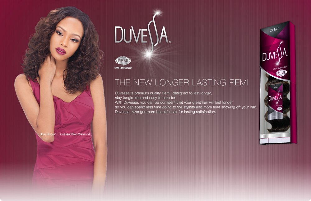Amazon Outre Duvessa Bali Wave 14 Color 1 Hair Replacement