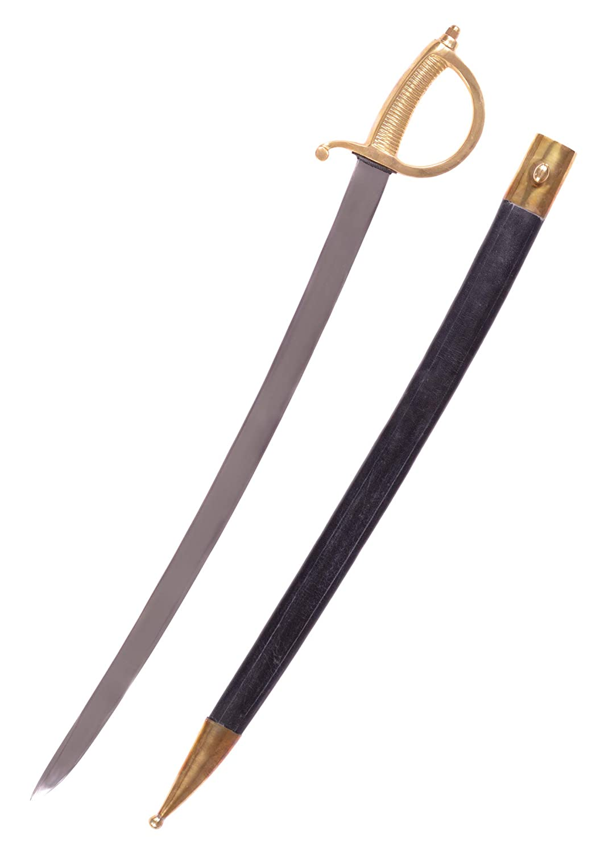 Battle-Merchant Franz/ösischer S/äbel Infanteries/äbel Modell Briquet Pirat echt Erwachsene Piratens/äbel Hochwertiges Schwert