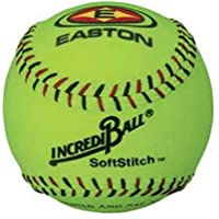 "Easton Incrediball 12"" Neon SoftStitch Training Softball"