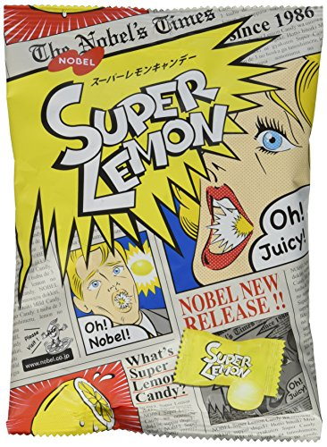 - Japanese Extreme Super Sour Lemon Flavored 3 Layered Intense Candy Challenge