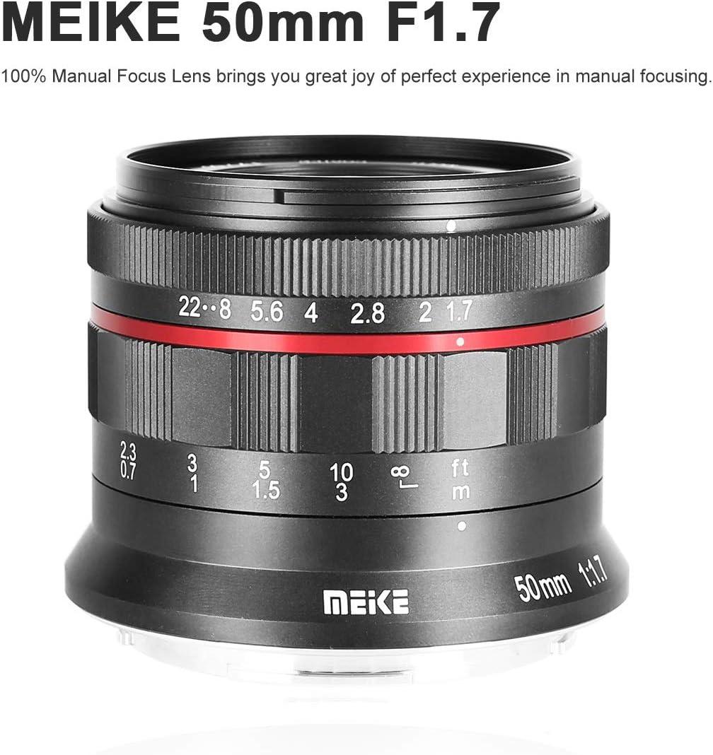Meike 50mm f1.7 z Manual Lens for Nikon Full Frame Mirrorless Camera Z6 Z7