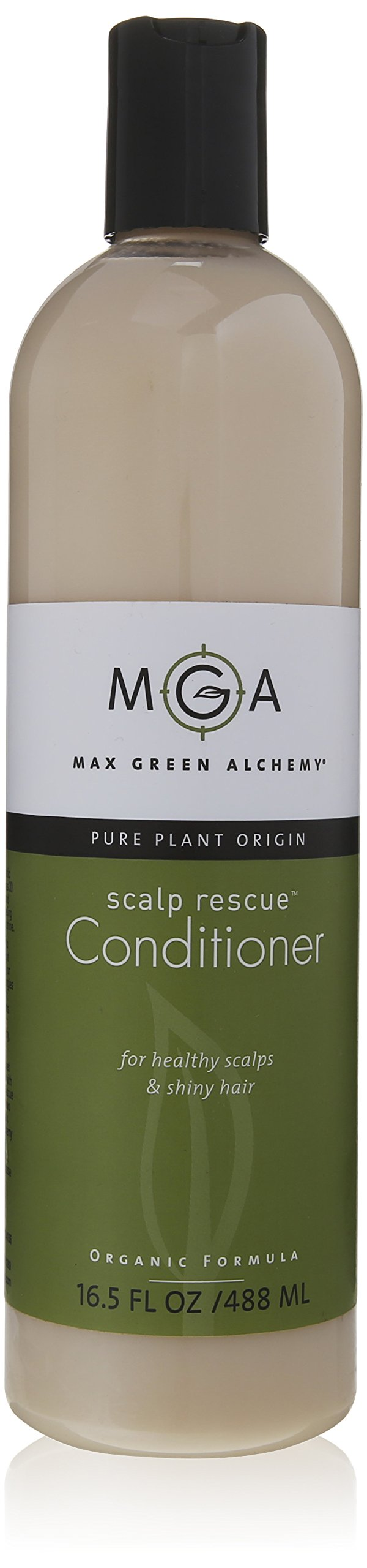 Max Green Alchemy Organic Formula Scalp Rescue Conditioner Value Size Bottle (16.5 Fluid Ounces)