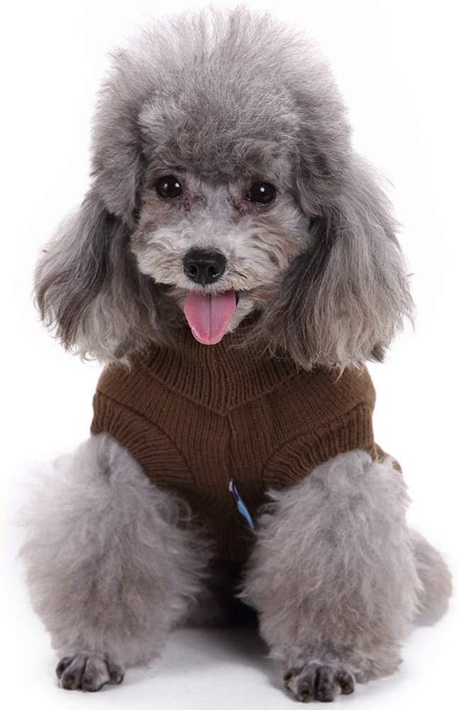 Warm Pet Sweater Dog Sweaters for Small Dogs Medium Dogs Large Dogs Cute Knitted Classic Cat Sweater Dog Clothes Coat for Girls Boys Dog Puppy Cat Dog Sweater
