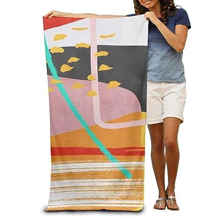 Amazon.com: Mojo Microfiber Fast Drying Beach Towels Bath ...