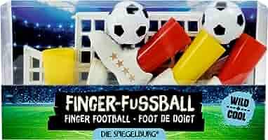 Spiegelburg 14702 Juego de Mesa Dedos Futbol Wild+Cool Fußball ...