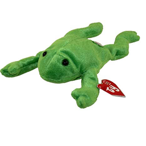 5e08011c35e Amazon.com  TY Beanie Baby - LEGS the Frog (BBOC Exclusive) By Ty Inc. by Ty  Inc.  Toys   Games