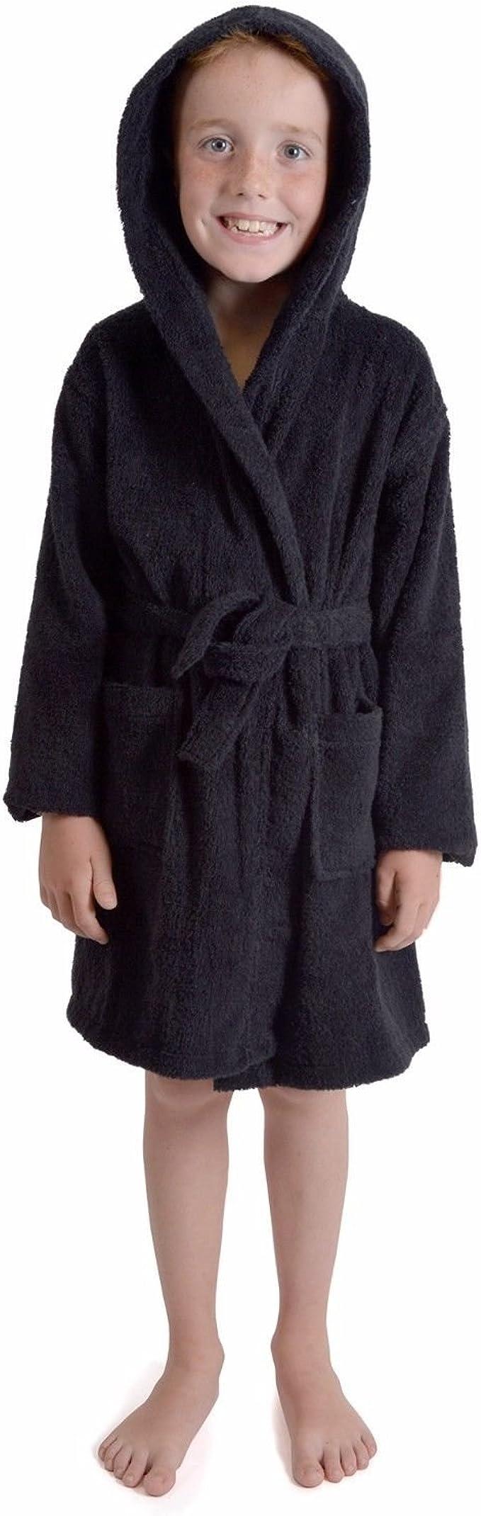 Albornoz con capucha para niños y niñas, 100% transpirable, de ...