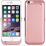 """Mondpalast @ Rose Gold 8200mAh External Battery Charger Case for Iphone 6 plus 6S plus IPHONE 6+ 6S+ 5.5"""" (with usb output can charge second mobile phone)"""