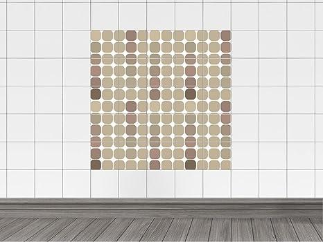 Piastrelle adesivo piastrelle immagine per bagno cerchi punti