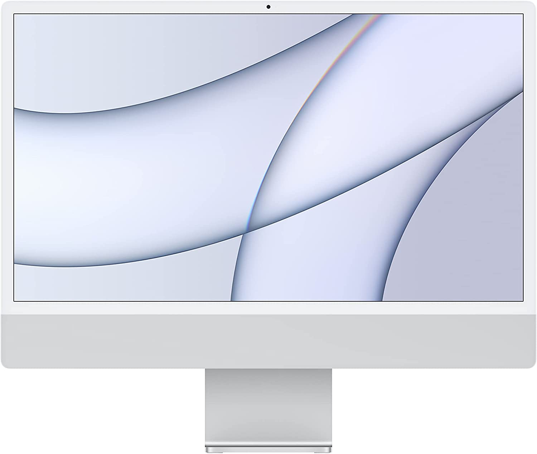 2021 Apple iMac (24-inch, Apple M1 chip with 8-core CPU and 7-core GPU, 8GB RAM, 256GB)