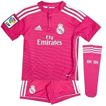 52f1380ac Real Madrid Away Mini Kit 2014 2015 - 98cm  Amazon.co.uk  Sports ...