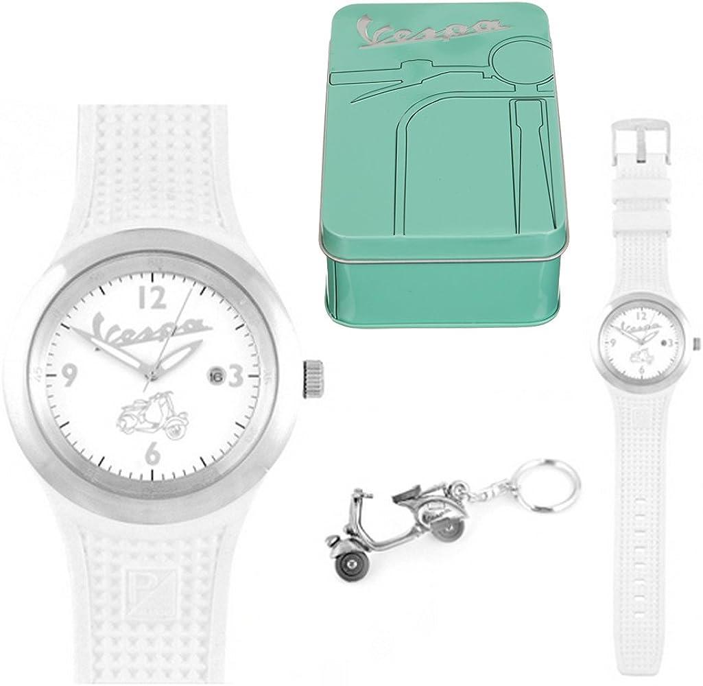 Caja de regalo para reloj, diseño de hombre y llavero: Amazon.es: Relojes