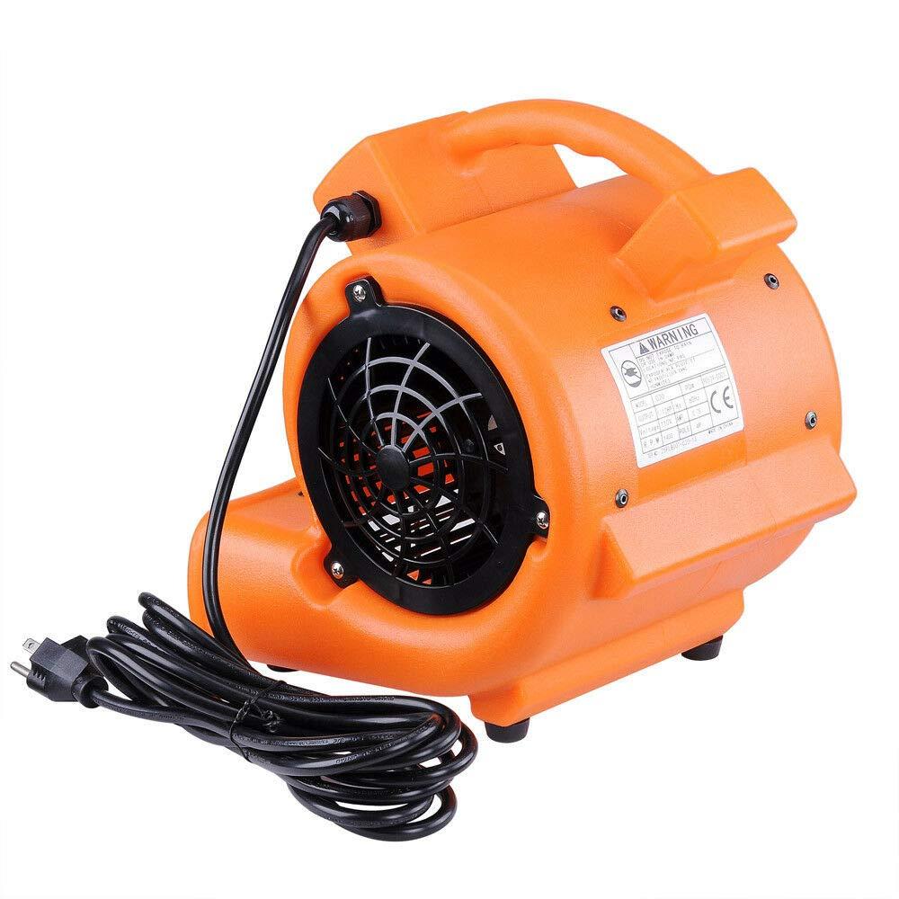 Sitelan (US Stock) Floor Dryer Air Mover Blower Carpet Dryer Floor Drying Industrial Fan