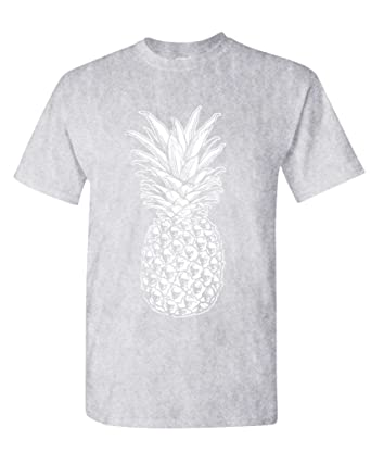 2af71fa32 The Goozler Skull Pineapple - Retro Style Hipster - Mens Cotton T ...