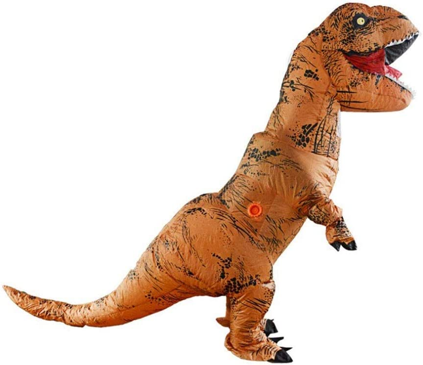 JVRX Traje Inflable Dinosaurio Adulto T-Rex Disfraces for ...