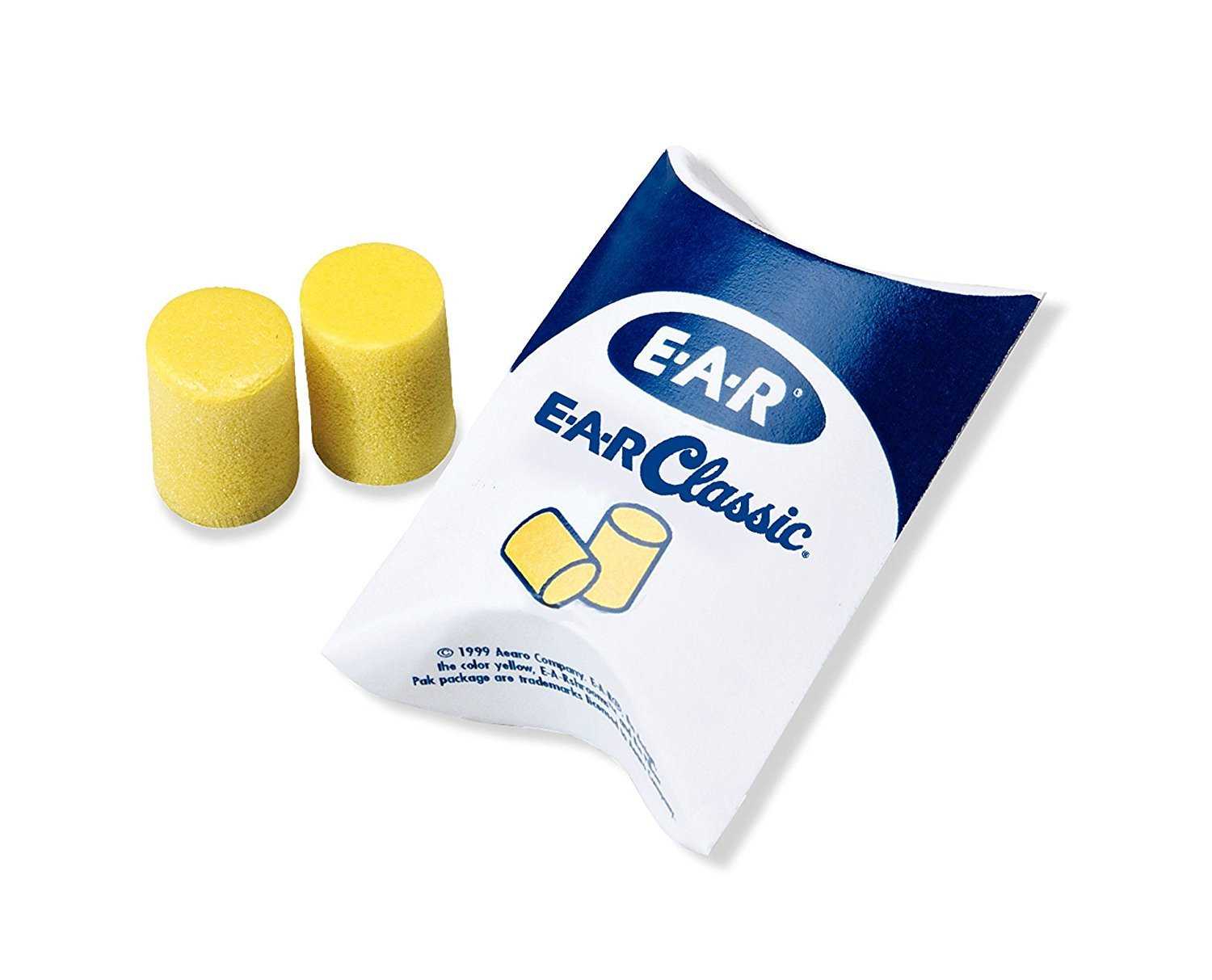 3M E-A-R Classic qAgMw Earplugs 310-1060, Uncorded in Pillow Pack, 30 Count (3 Pack)