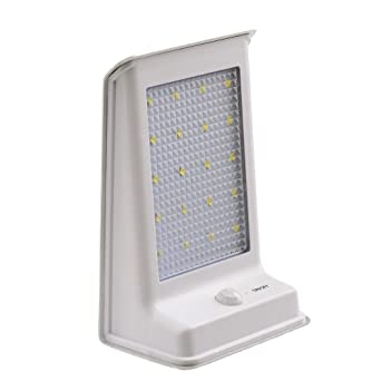 LederTEK Lampe Solaire Murale Avec LED Ampoules Interrupteur - Eclairage exterieur detecteur automatique