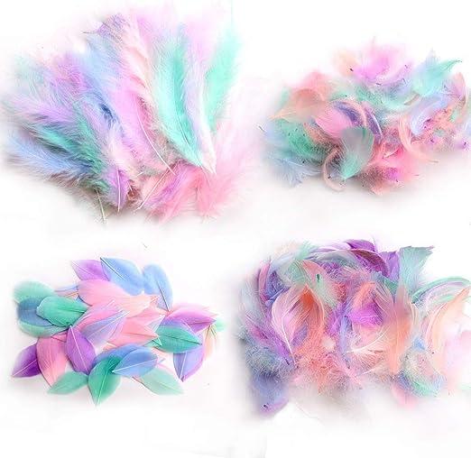 "Arte dreamcatchers UK Verde Brillante Plumas De Ganso Pluma 4-6/"" Bodas Craft"