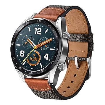 Leafboat pour Huawei Watch GT Bracelet,Bracelet de Remplacement 22mm pour Huawei Watch GT Bracelet