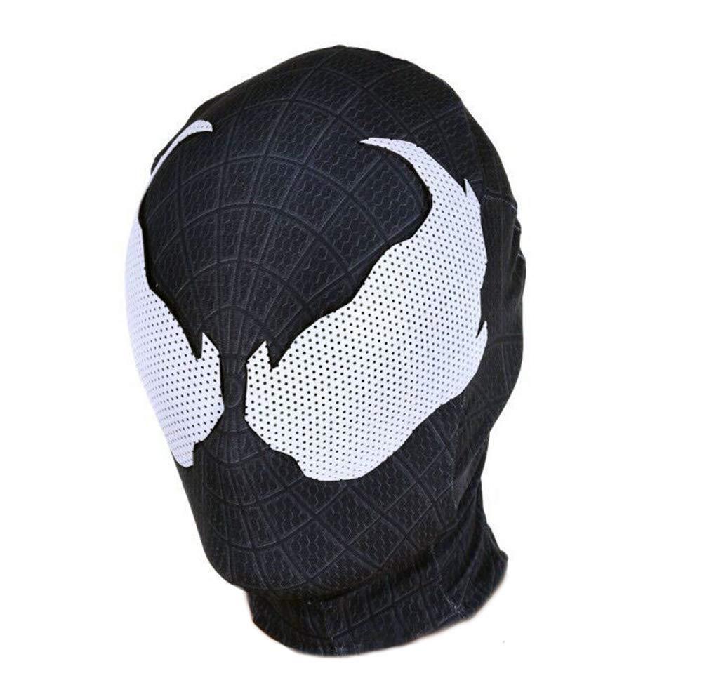 Black Symbiote Clothing mask,Venom Mask Cosplay Costume for Adult Halloween